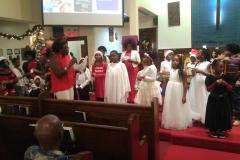 Sunday School Christmas Pageant
